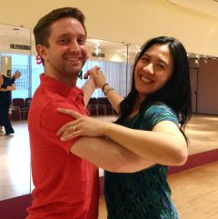 Wedding Dance Lesson at Chevy Chase Ballroom