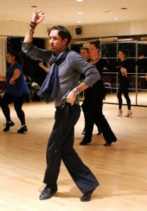 Dance workshops with master teachers