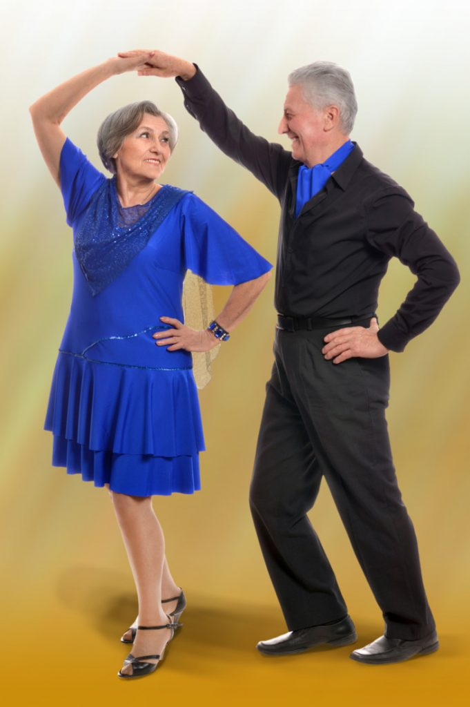 Dancing is good for your health and keeps you young!
